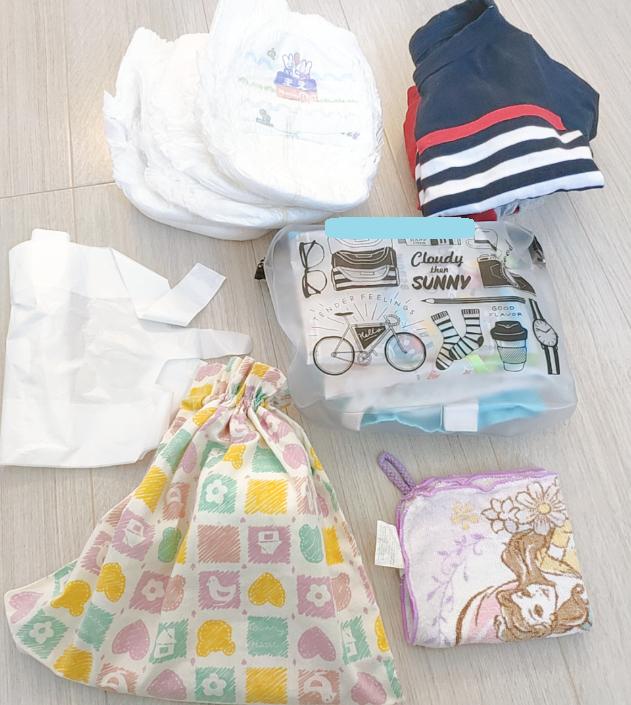 0歳の荷物