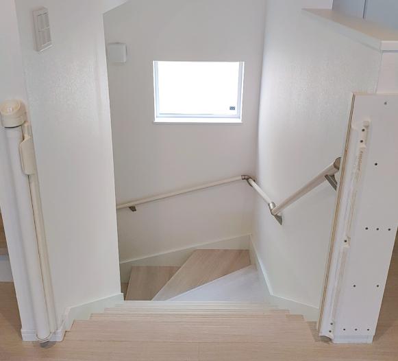 階段(上から)