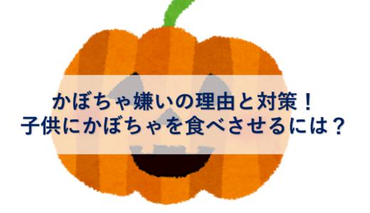 かぼちゃ嫌いの理由と対策!子供にかぼちゃを食べさせるには?