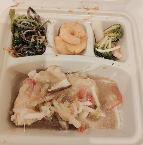 白身魚の野菜あんかけ_解凍前